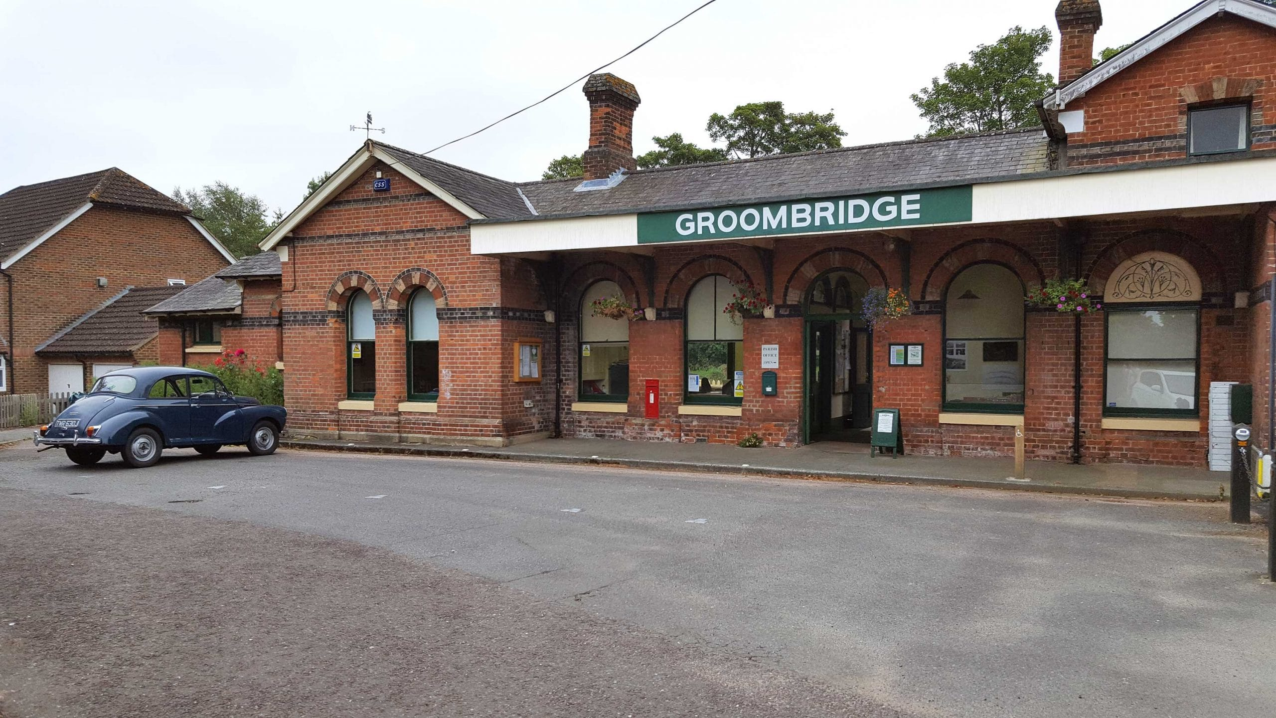 Withyham Parish Council Offices at the old Groombridge Station